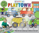 Puzzle Play Set: Playtown: Three Chunky Books and a Giant Jigsaw Puzzle! Cover Image