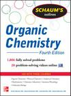 Schaum's Outline of Organic Chemistry: 1,806 Solved Problems + 24 Videos (Schaum's Outlines) Cover Image