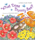 What Does Bunny See?: A Book of Colors and Flowers Cover Image