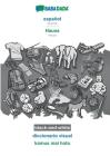 BABADADA black-and-white, español - Hausa, diccionario visual - kamus mai hoto: Spanish - Hausa, visual dictionary Cover Image