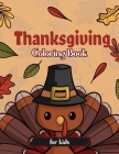 Thanksgiving Coloring Book for Kids Cover Image