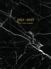2021-2025 Five Year Planner: 60-Month Schedule Organizer 8.5 x 11 with Marble Cover (Volume 3 Hardcover) Cover Image