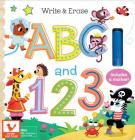 Write & Erase ABC and 123 Cover Image