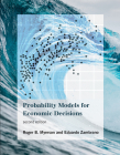 Probability Models for Economic Decisions, Second Edition Cover Image