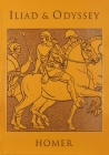 Iliad & Odyssey (Leather-bound Classics) Cover Image