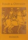 Iliad & Odyssey (Leather-bound Classics) Cover Image