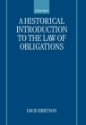 A Historical Introduction to the Law of Obligations Cover Image
