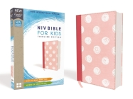 Niv, Bible for Kids, Cloth Over Board, Pink, Red Letter, Comfort Print: Thinline Edition Cover Image
