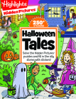 Halloween Tales: Solve the Hidden Pictures® puzzles and fill in the silly stories with stickers! (Highlights Hidden Pictures Silly Sticker Stories) Cover Image