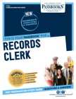 Records Clerk, 3612 (Career Examination) Cover Image