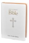 New Catholic Bible--Medium Print (White) Cover Image