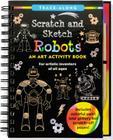 Scratch & Sketch Robots (Trace-Along) Cover Image