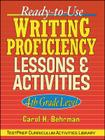 Ready-To-Use Writing Proficiency Lessons and Activities: 4th Grade Level (J-B Ed: Test Prep #42) Cover Image