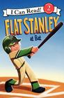 Flat Stanley at Bat (I Can Read Level 2) Cover Image