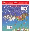Susannah Peacock - Santa's Sleigh Advent Calendar 2021 (with stickers) Cover Image