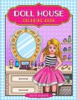 Doll House Coloring Book Cover Image