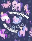 Unicorni Libro da Colorare: I bambini dai 2-5; Raffreddare Disegni da colorare per le interpolazioni, Bambini & Ragazze, con Unicorni Designs Cover Image