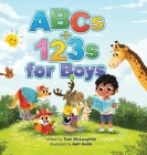 ABCs and 123s for Boys: A fun Alphabet book to get Boys Excited about Reading and Counting! Age 0-6. (Baby shower, toddler, pre-K, preschool, Cover Image