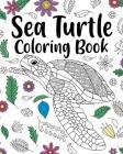 Sea Turtle Coloring Book Cover Image