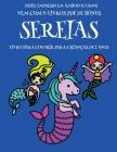 Livro para colorir para crianças de 2 anos (Sereias): Este livro tem 40 páginas coloridas com linhas extra espessas para reduzir a frustração e melhor Cover Image
