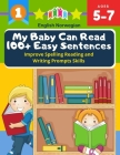 My Baby Can Read 100+ Easy Sentences Improve Spelling Reading And Writing Prompts Skills English Norwegian: 1st basic vocabulary with complete Dolch S Cover Image