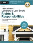 The California Landlord's Law Book: Rights & Responsibilities Cover Image