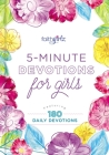 5-Minute Devotions for Girls: Featuring 180 Daily Devotions (Faithgirlz) Cover Image