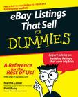 Ebay Listings That Sell for Dummies Cover Image