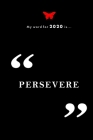 Persevere: Doodle and Line Pages with 2020 Calendar Cover Image