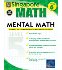 Mental Math, Grade 6: Strategies and Process Skills to Develop Mental Calculation (Singapore Math) Cover Image