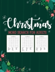 Christmas Word Search For Adults: Puzzle Book - Holiday Fun For Adults - Activities Crafts - Games Cover Image