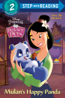 Mulan's Happy Panda (Disney Princess: Palace Pets) (Step into Reading) Cover Image