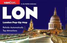 London Pop-Up Map by Vandam Cover Image