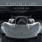 Exotic Cars Calendar 2021: 16 Month Calendar Cover Image