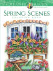 Creative Haven Spring Scenes Coloring Book (Creative Haven Coloring Books) Cover Image