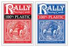 100% Plastic Rally Playing Cards Cover Image