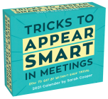 Tricks to Appear Smart in Meetings 2021 Day-to-Day Calendar Cover Image