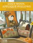 Cozy Wool Applique Pillows Cover Image