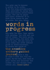 Words in Progress: The Creative Writer's Guided Journal Cover Image