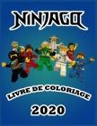 NINJAGO Livre de Coloriage 2020: 50 NINJAGO pages à colorier pour les enfants: Nouveautés et dernières pages de haute qualité et premium Cover Image
