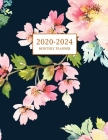 2020-2024 Monthly Planner: Large Five Year Planner with Floral Cover (Volume 2) Cover Image