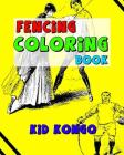 Fencing Coloring Book Cover Image