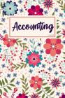Accounting Ledger: Simple Ledger Cash Book, Accounting Ledger for Small Business, Ledger Notebook, Expense Record Book Cover Image
