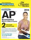 Cracking the AP Economics Macro & Micro Exams Cover Image