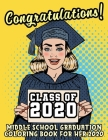 Middle School Graduation Coloring Book For Her: Middle School Graduation Gifts For Her 2020 Cover Image