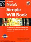 Nolo's Simple Will Book [With CDROM] Cover Image