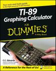 Ti-89 Graphing Calculator for Dummies Cover Image