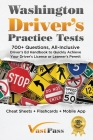 Washington Driver's Practice Tests: 700+ Questions, All-Inclusive Driver's Ed Handbook to Quickly achieve your Driver's License or Learner's Permit (C Cover Image