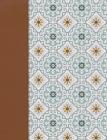 NVI Biblia de Apuntes, azulejos color salvia, símil piel Cover Image