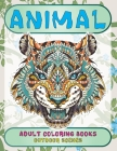 Adult Coloring Books Outdoor Scenes - Animal Cover Image